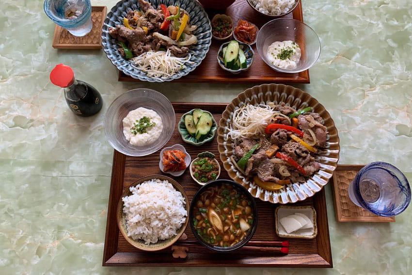 北海道から届いた鹿・鶏・豚肉で大満足の定食とおかずつくってみた