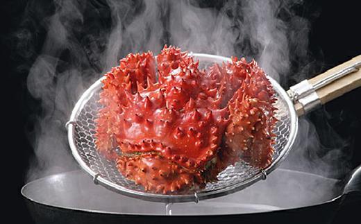 [Ta503-B210]ボイル花咲蟹2尾1.3kg