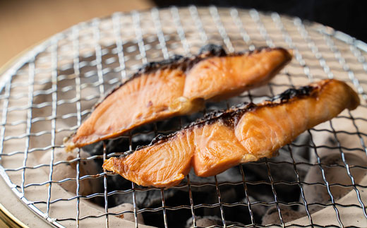 [Ka405-A406]紅鮭塩ハラミ 2パックで700~800g