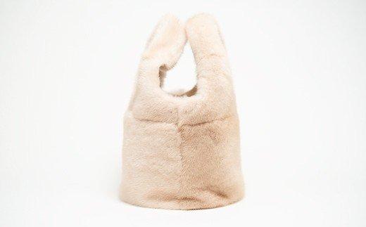 170-30 ミンクオーバルバッグ(パロミノ)