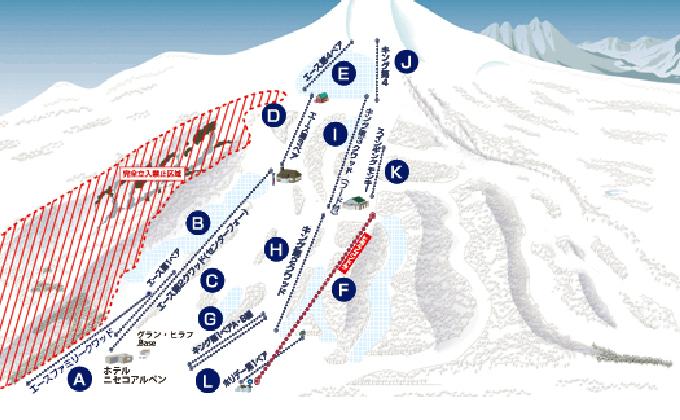 ニセコグラン・ヒラフスキー場 リフト・ゴンドラ1日券(1枚)