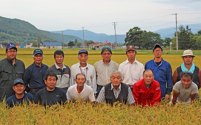 銀山米研究会の無洗米<ゆめぴりか&ななつぼし>セット(計10kg)