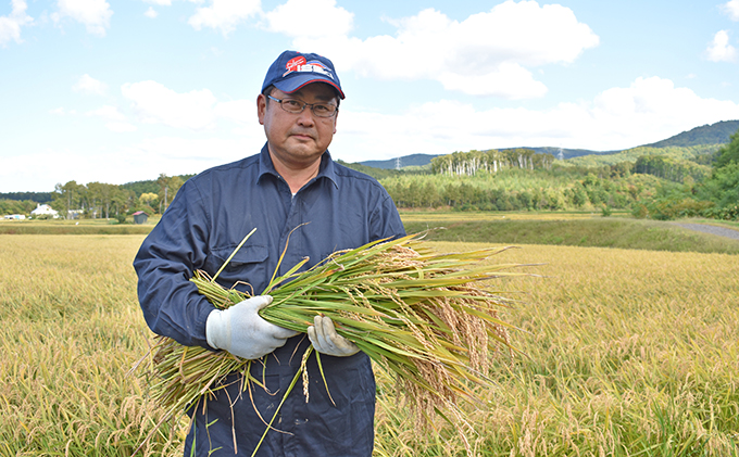 ◆2021年6月配送限定◆銀山米研究会のお米<ななつぼし>10kg(5kg×2)