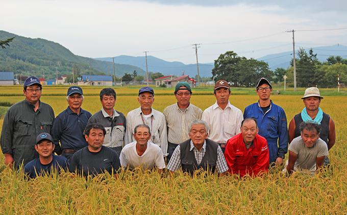 ◆2021年8月配送限定◆銀山米研究会の無洗米<ななつぼし>10kg(5kg×2)