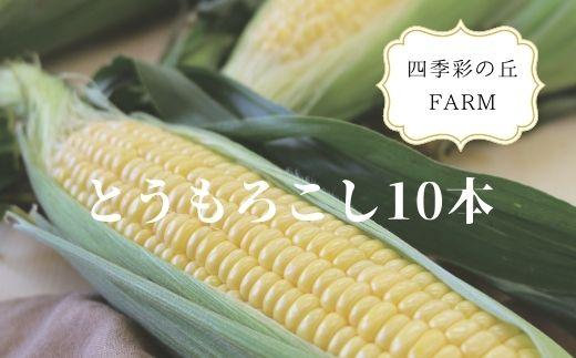 [012-23]四季彩の丘FARM とうもろこし(10本)