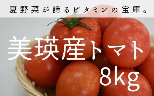 [016-08]美瑛選果 美瑛産トマト8kg