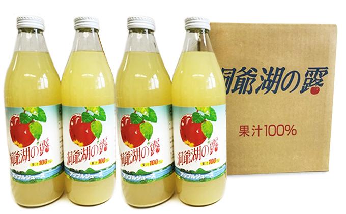 りんごジュース「洞爺湖の露」1.000ml×6本