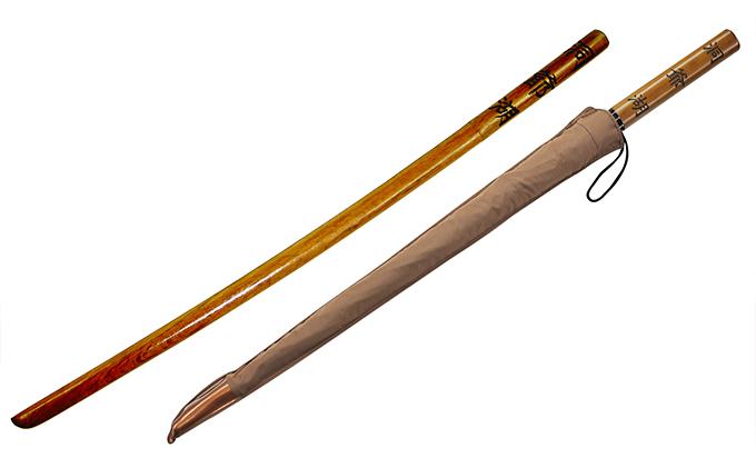 洞爺湖木刀と洞爺湖木刀傘