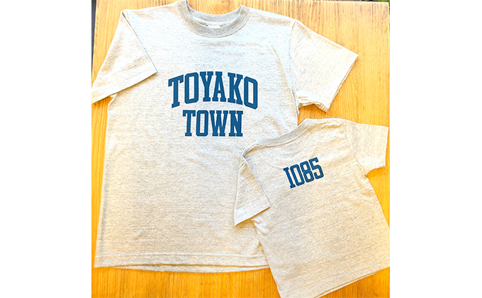Toyako Town Tシャツ 親子セット(2枚組)
