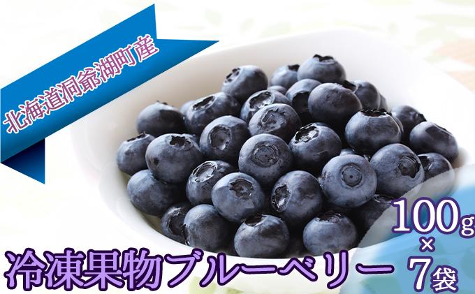 役に立ちます 冷凍カット果物 ブルーベリー100g×7袋