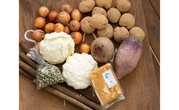佐々木ファーム 「Farm Delighted」みそ&野菜詰め合わせ 2ヶ月連続お届け