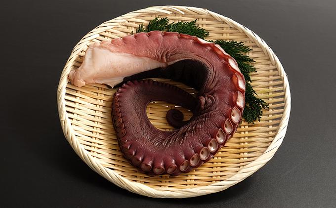 北海道噴火湾産 刺身用 煮たこ足 2本 約1.2kg(約600~700g/1本)