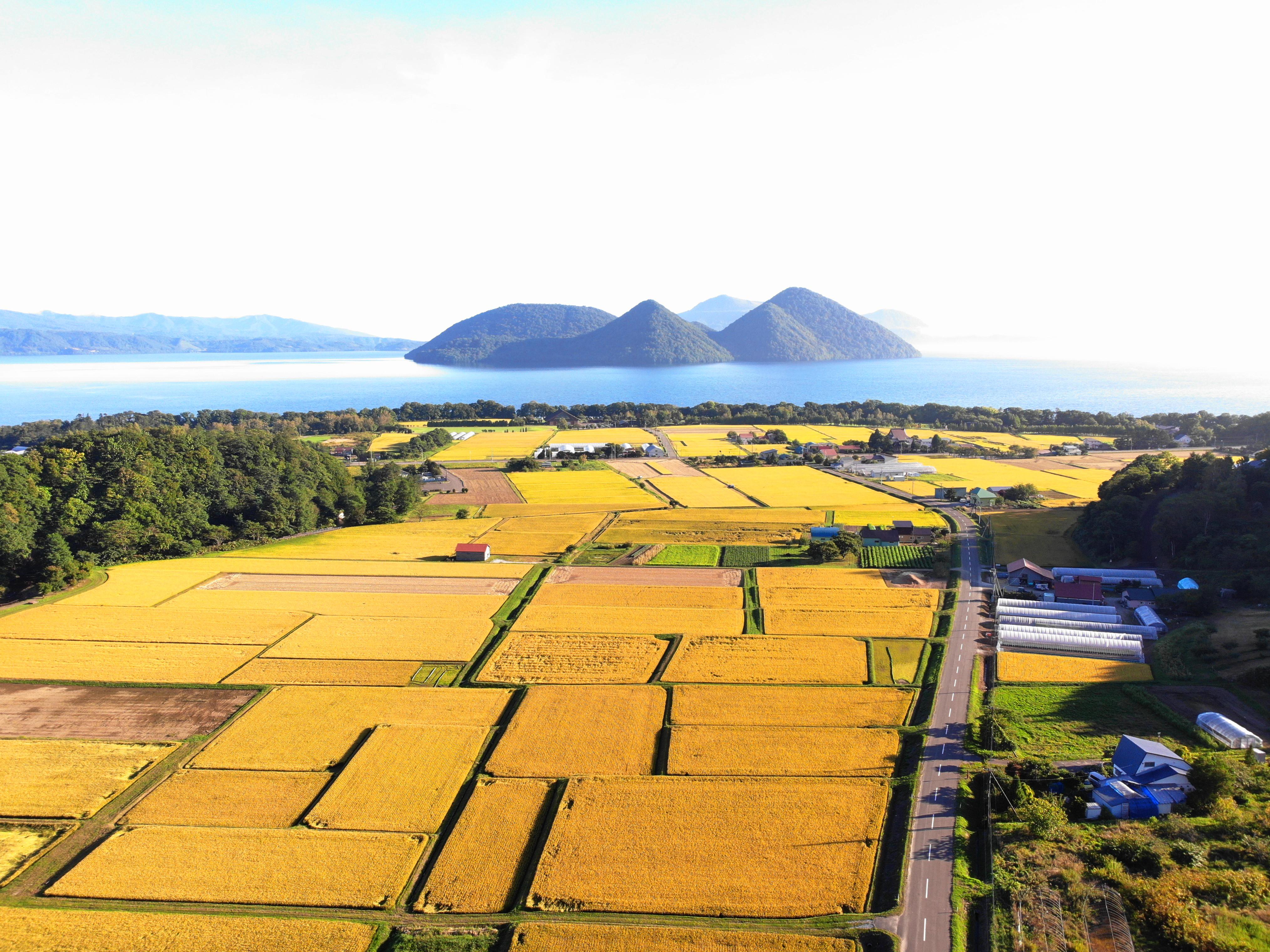 洞爺湖町の風景画像