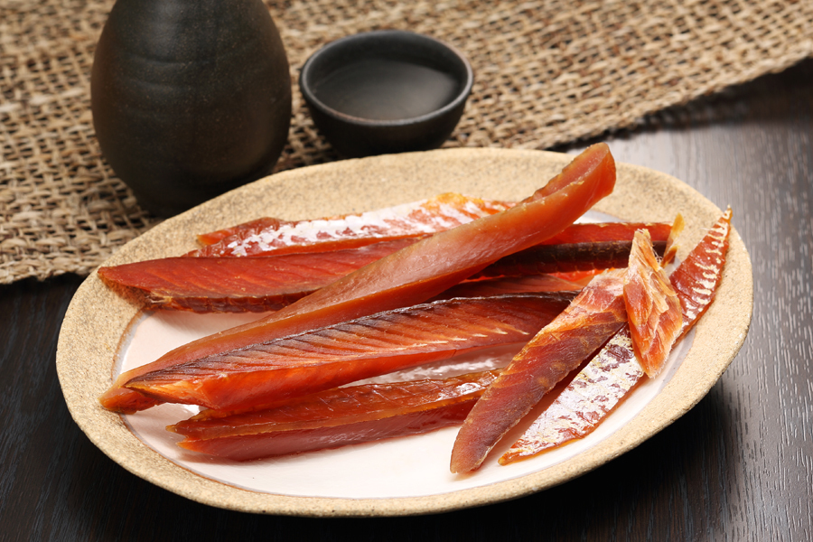 【新型コロナ被害支援】鮭とば(皮無し)【700g(140g×5入)】