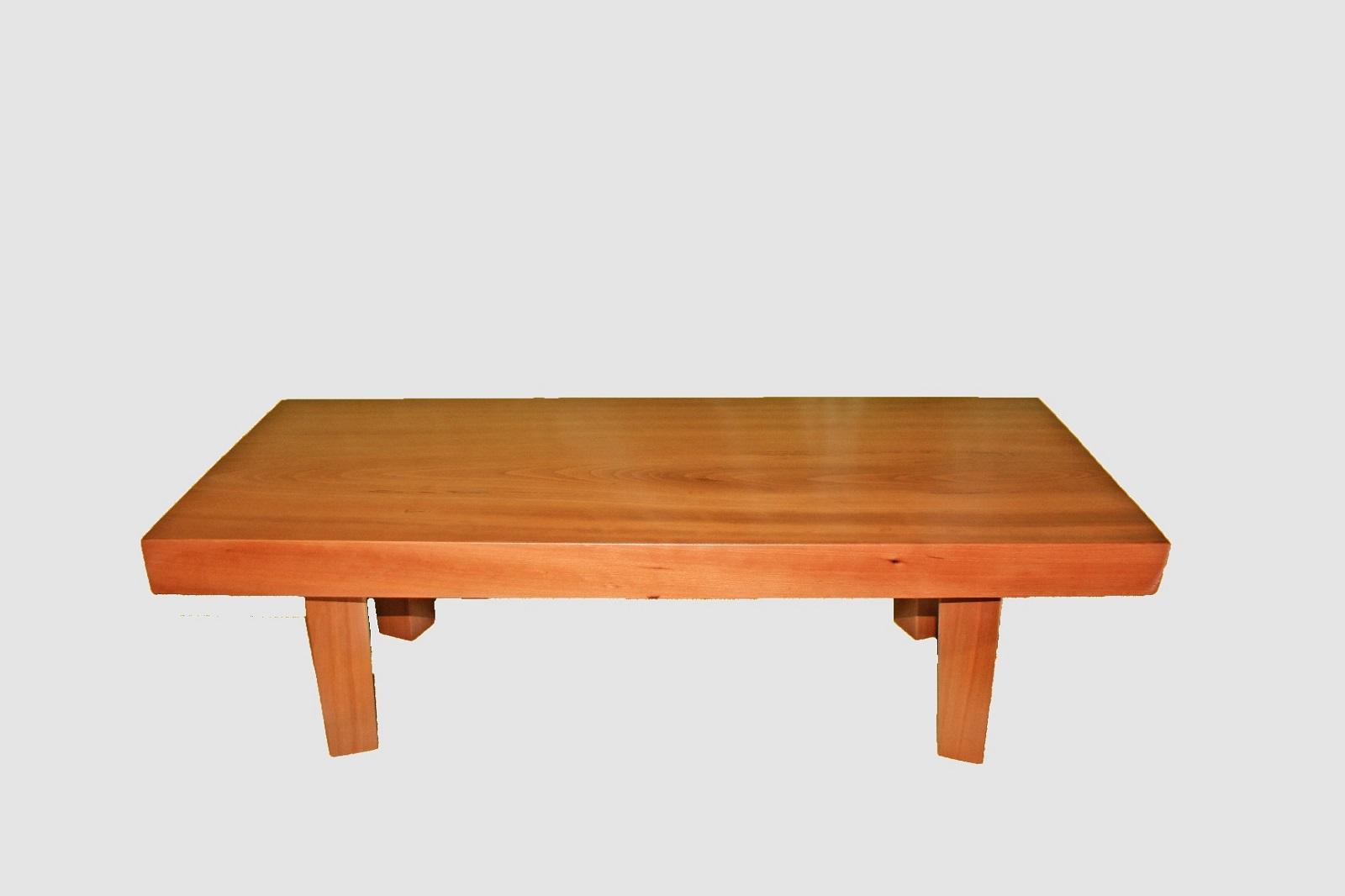【56】座卓(テーブル)カツラ・一枚天板【厚さ約6.5cm】