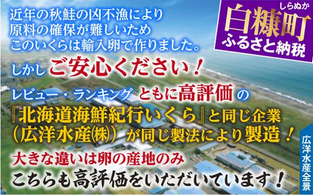 【新型コロナ被害支援】いくら醤油漬(鮭卵)【500g(250g×2)】(13,000円)
