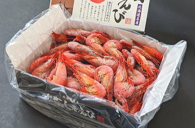 【新物入荷】北海しまえび500g(35-40尾) 北海道野付産【数量限定】 シマエビ