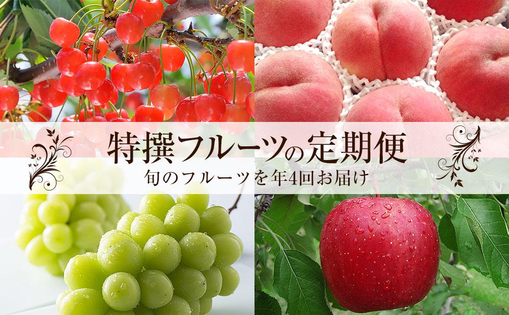 特撰フルーツの定期便(計4品)