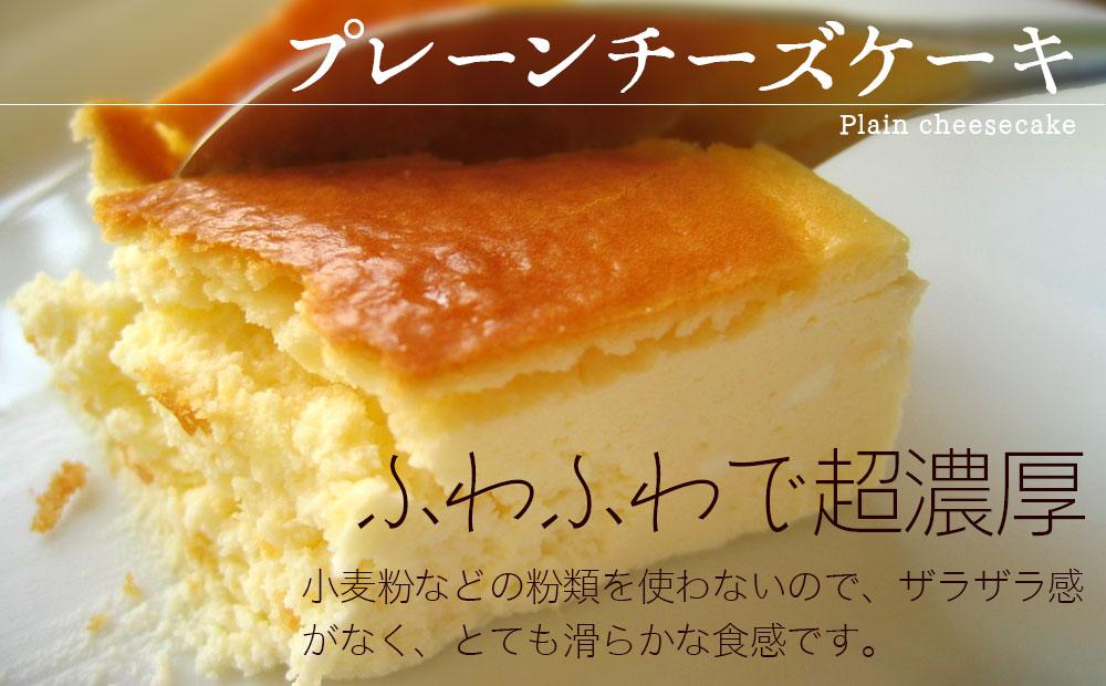 スプーンで食べるクリームチーズケーキ(7号)