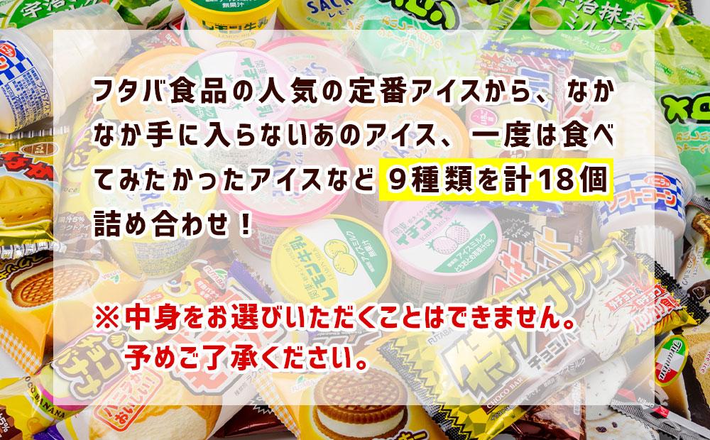 フタバ食品のアイス福袋 アイス18個 届いてからのお楽しみセット