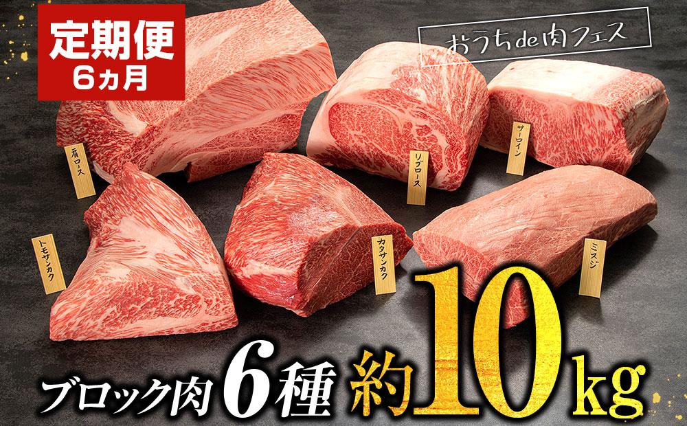 【定期便】圧巻の塊肉!おうちで肉フェス!ブロック肉6種!
