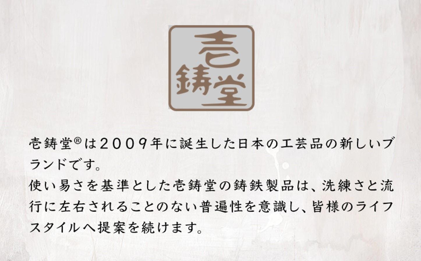 南部鉄 ティーポット胡桃Kurumi 0.5L プレミアムアイボリー