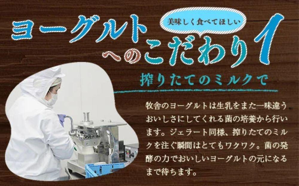 朝搾りミルク100%使用!無添加の飲むヨーグルト12本