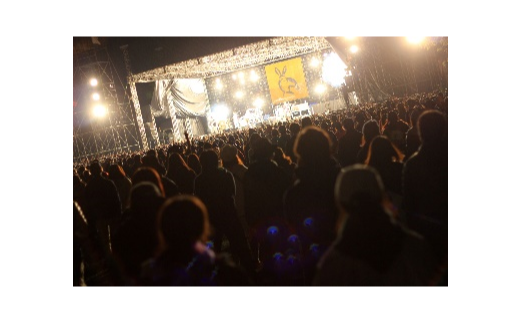 【04324-0150】ARABAKI ROCK FEST. オフィシャルTシャツB <ブラック:サイズM>