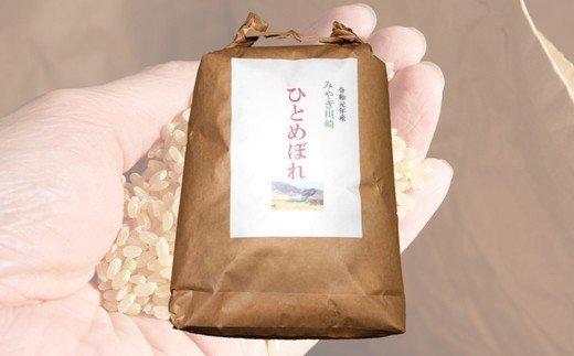 【04324-0098】みやぎ川崎産 ひとめぼれ(玄米)10㎏