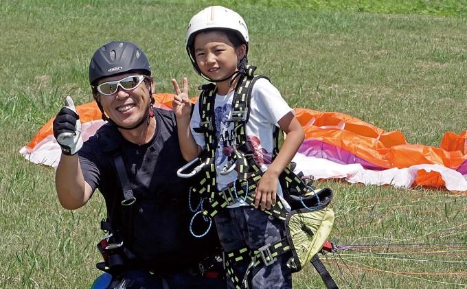 【男鹿寒風山でパラグライダー!!】パラグライダー遊覧飛行体験コース 1名様