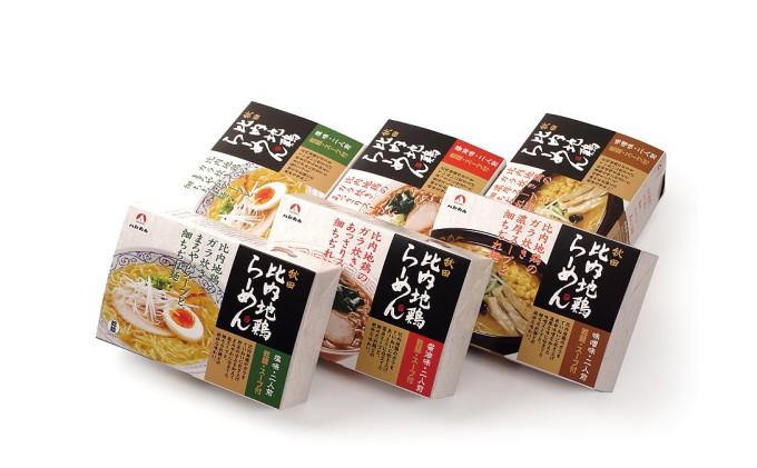 乾燥・秋田比内地鶏らーめん12食セット