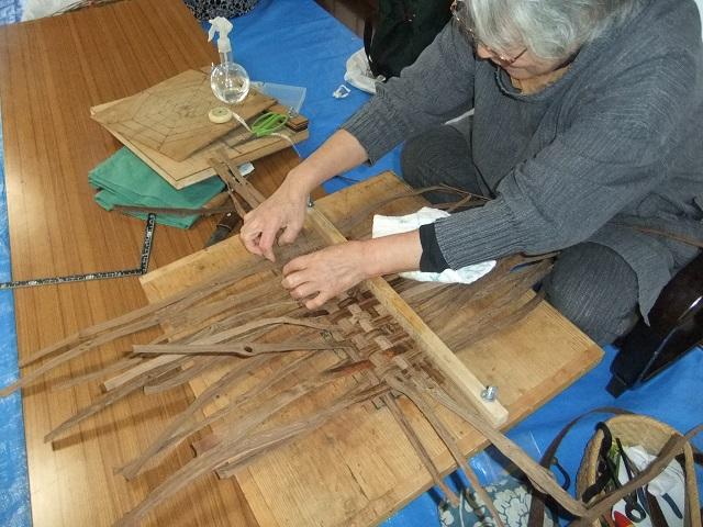 【 限定2口 】つる細工★小国町の伝統工芸品 (あけび&くるみ表)