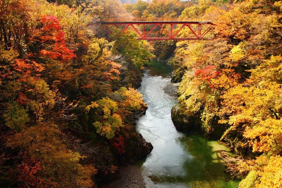 小国町の風景画像