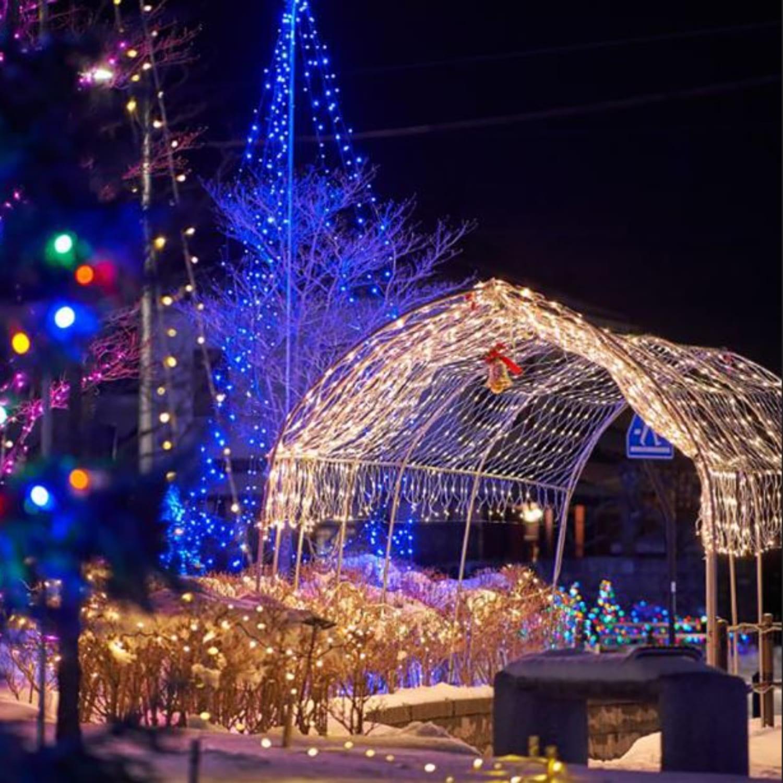 冬には約30000級を点灯