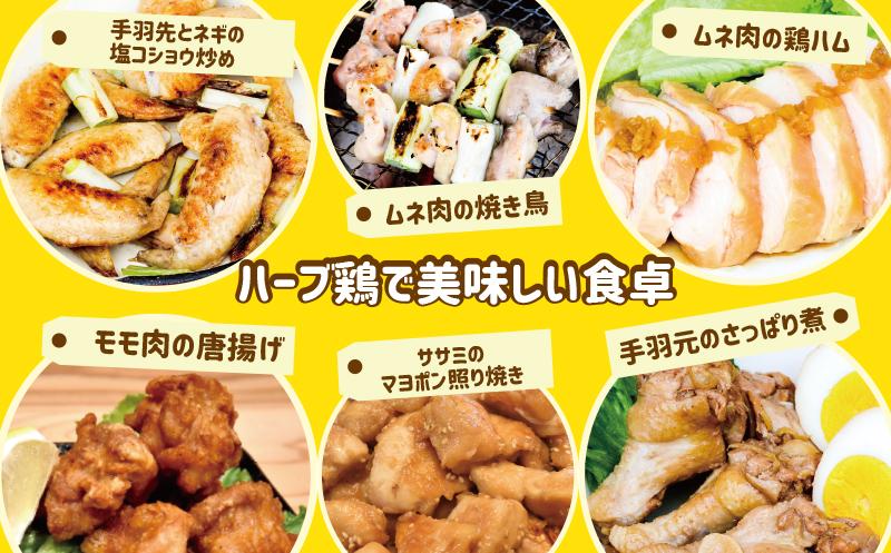 葛尾村産ハーブ鶏もも肉・むね肉2㎏セット もも肉1㎏×1パック・むね肉1㎏×1パック 鶏肉 冷凍