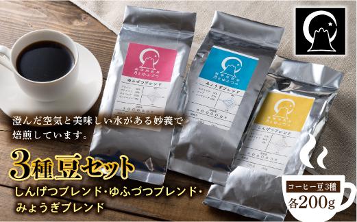 コーヒー 3種豆セット(200g×3)