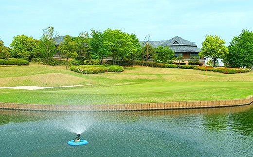 富岡市ゴルフ場利用券 寄附金額10,000円 (利用券3割相当額)