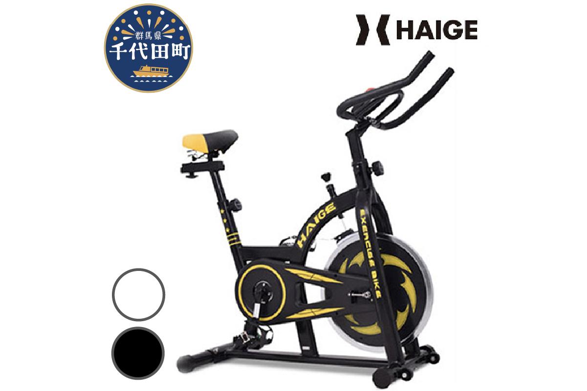HG-YX-5006N1 スピンバイク (ブラック) 5006A / トレーニング エクササイズ ダイエット 健康 コンパクト 群馬県 千代田町 ※組み立て必要