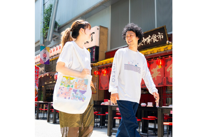 A day in the life shibuya 渋谷区公認スーベニアSHIBUKURO+長袖TシャツLサイズ+SHIBUKUROボールチェーンタグ セット