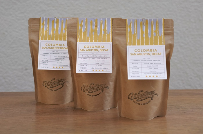 デカフェコーヒーセット(粗挽き)