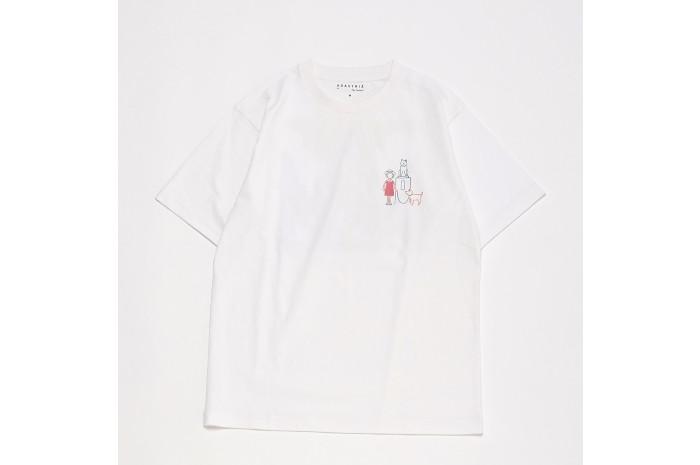 A day in the life shibuya 渋谷区公認スーベニアSHIBUKURO+半袖TシャツMサイズ+SHIBUKUROボールチェーンタグ セット