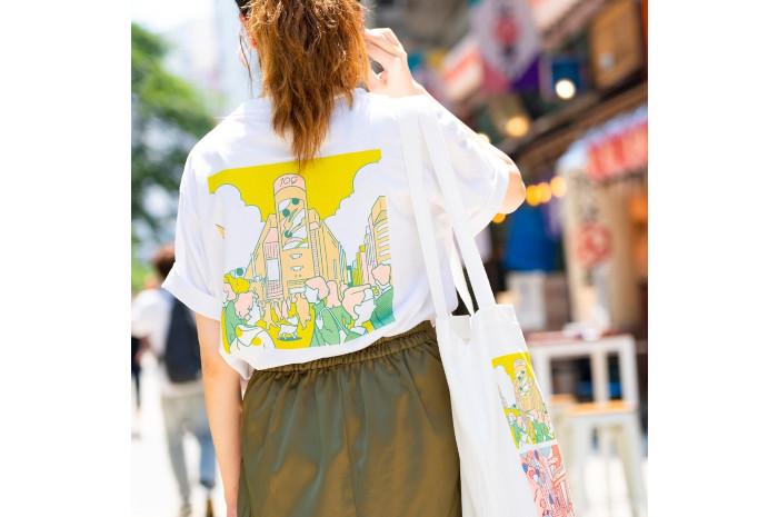 A day in the life shibuya 渋谷区公認スーベニアSHIBUKURO+半袖TシャツLサイズ+SHIBUKUROボールチェーンタグ セット