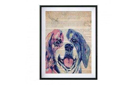 DOG ART オールドプリント EIJI TAMURA DOG ART