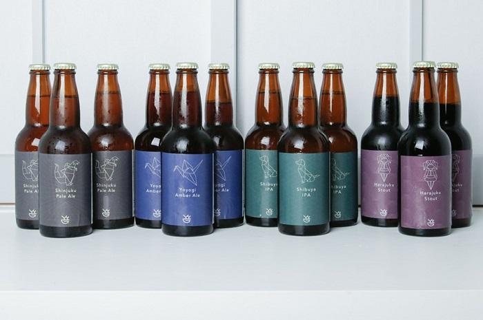 渋谷生まれのクラフトビール定番4種-12本セット-