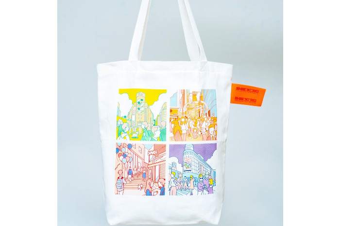 A day in the life shibuya 渋谷区公認スーベニアSHIBUKURO+長袖TシャツMサイズ+SHIBUKUROボールチェーンタグ セット