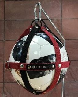 01 KEI-CRAFT ボールホルダー(ワインブラック)