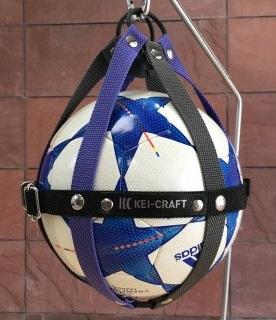 01 KEI-CRAFT ボールホルダー(グレーパープル)