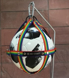01 KEI-CRAFT ボールホルダー(レインボー)