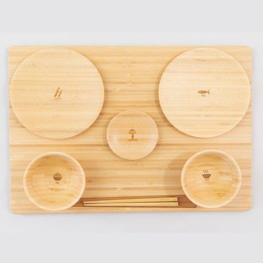 竹食器(たくぜんセット)