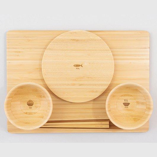 竹食器(さんのぜんセット)